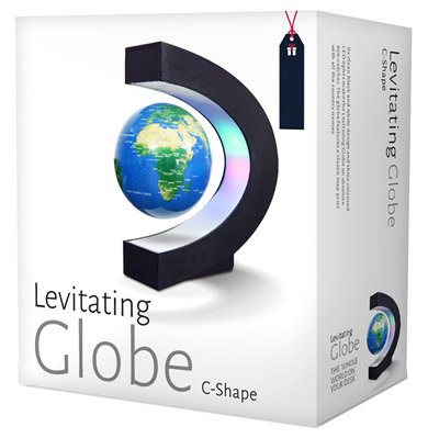 Левитиращ глобус кутия